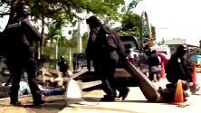 Mueren 11 personas y detienen a 38 durante dos enfrentamientos por construcción de presa en México