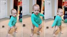 Con ritmo latino una bebé conquista TikTok por su manera de bailar