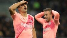 Plaga de lesiones en el Barça: Luis Suárez, Arthur, Cillessen y Rafinha están de baja