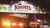 Policía investiga un tiroteo afuera del parque temático Knott's Berry Farm en Buena Park