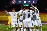 Italia venció a Lituania y es líder de su grupo en Eliminatoria