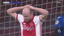 ¡Drama puro! Davy Klaassen deja ir la clasificación del Ajax