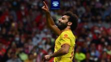 Mohamed Salah solo sabe marcarles gol a los grandes de Europa