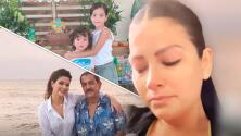 """Al borde del llanto, Ana Patricia se queda sin aire porque sus hijos """"encontraron"""" a su fallecido abuelo"""