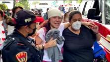 """""""Estamos vivos"""": varias personas permanecen hospitalizadas tras la explosión en un edificio habitacional de la CDMX"""