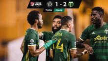 Con gran polémica y dos hachazos... Portland Timbers, a la Final de MLS is Back