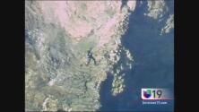 Rescatan a hombre que cayó en acantilado del Área de la Bahía