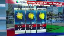 Condiciones secas y cálidas para esta tarde de lunes en el sur de California