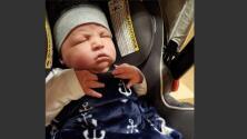 Después de 19 abortos espontáneos, esta madre dio a luz a un 'superbebé' de 14 libras