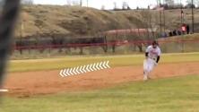 Corredor se saltó la segunda base antes de ir a home y nadie se dio cuenta
