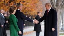 Tras la muerte del expresidente George H.W. Bush se habla de una tregua entre su familia y los Trump