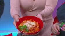Fetuccini con camarones en salsa de vodka, una receta especial para el día de los enamorados