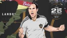 The 25 Greatest: Landon Donovan dominó la MLS con seis títulos y 136 asistencias
