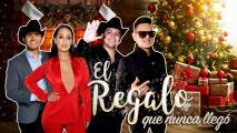 Christian Nodal, Victoria 'La Mala', El Dasa y Regulo Caro recordaron la Navidad más triste que tuvieron