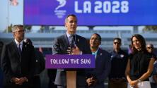 """""""Es un día histórico para la ciudad"""" Eric Garcetti sobre Los Ángeles como sede de los Olímpicos en el 2028"""