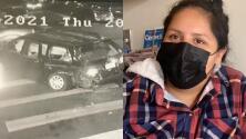 Accidente en Oakland: madre da gracias a Dios y residentes piden atención a la zona