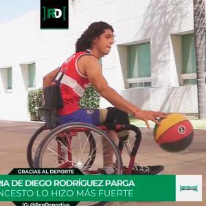 Gracias al Deporte: La ejemplar historia de Diego Rodríguez