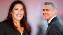 """Angélica Vale recuerda emocionada la vez que George Clooney la """"tuvo en sus manos"""""""