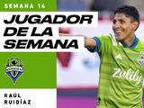Raúl Ruidíaz, Jugador de la Semana 14 de MLS
