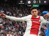 Ajax y Edson Álvarez pierden lo invicto tras caer sorpresivamente ante Utrecht