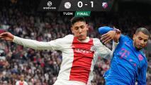 Ajax y Edson Álvarez pierden lo invicto tras caer ante Utrecht