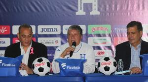 """'Bolillo' en su presentación: """"Sueño con Honduras en el Mundial"""""""