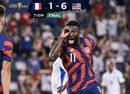 ¡Team USA gana, gusta y golea 1-6 para eliminar a Martinica!