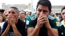 Así vivió la afición mexicana de Rusia la derrota de su selección en el Mundial