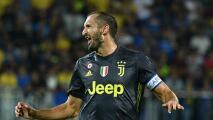 Chiellini seguirá en la Juve: el defensor confirmó que firmará contrato
