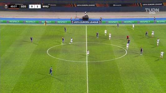¡El segundo de West Ham! Rice se escapó 30 metros y definió el 0-2