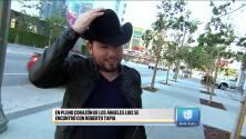 Roberto Tapia agradecido con El Chapo