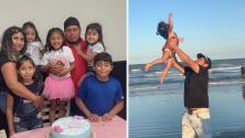 Padre con cinco hijos lucha contra el coronavirus en un hospital de Houston
