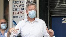 Se espera que de Blasio anuncie nuevos mandatos sobre uso de mascarilla para NYC