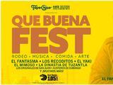 Gana tus boletos VIP a Que Buena Fest 2021