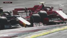 ¡El Niño Maravilla! Verstappen es líder tras un impresionante rebase sobre Leclerc