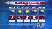 Sacramento tendrá cielos despejados este jueves