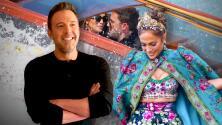 JLo regresa con Ben Affleck al lugar donde sufrió el 'tropiezo' con su atuendo Dolce & Gabbana