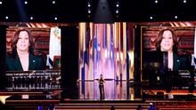 """""""Su música nos ha dado consuelo y fuerza"""": Kamala Harris a los artistas latinos en Premio Lo Nuestro"""