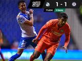 ¡No puede con su 'coco'! Cruz Azul empató 1-1 con Puebla