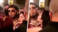 """""""Él fue el que subió este video"""": Anuel se burla de fan que intentó besarlo"""