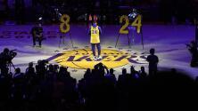 La afición de los Lakers, conmovida en el homenaje a Kobe Bryant