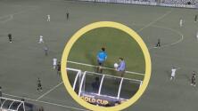 ¡Polémica! Exhiben que había 2 balones en gol del Tri vs. El Salvador