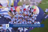 Argentina vence 1-0 a Brasil y es campeón de la Copa América