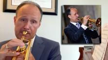 """""""La música hispana tiene pulso y espíritu"""": el poderoso mensaje del trompetista en EEUU con alma latina"""