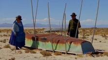 Pobreza y hambre: las consecuencias para una comunidad en Bolivia tras la desaparición del lago del que vivían
