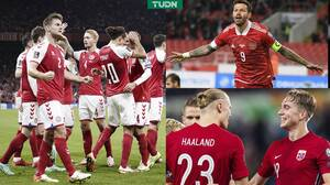 Resúmenes: Noruega golea a Gibraltar y Dinamarca a Israel
