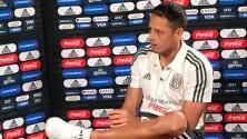 """Chicharito: """"No compito con Raúl, estamos para ayudarnos"""""""