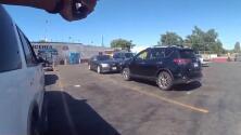 Policía muestra video de tiroteo en Bakersfield que resultó en la muerte de un sospechoso