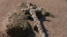 Érase una vez una espada de un caballero cruzado hallada 900 años después por un buceador aficionado