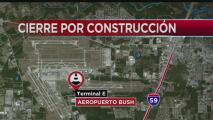 Inician labores de remodelación en la terminal E del Aeropuerto Bush en Houston, ¿qué debes tener en cuenta?